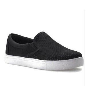 Gemini by Seven NEW faux suede feel slipon loafers